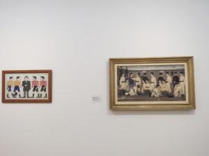 Twee schilderijen van Bart van der Leck