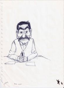 Kristoffel gezien door een student in 1995