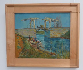 Brug te Arles, 1888, beide van Vincent van Gogh