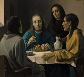 Emmaüsgangers, Han van Meegeren, van de website van Museum Boijmans van Beuningen
