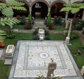 Centrale binnenplaats, herfst 2015