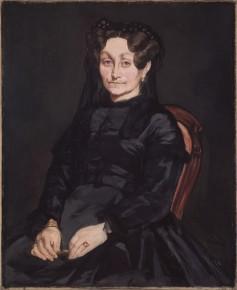 Eduouard Manet, Portret van Madame Auguste Manet, 1863, © ISABELLA STEWART GARDNER MUSEUM, BOSTON