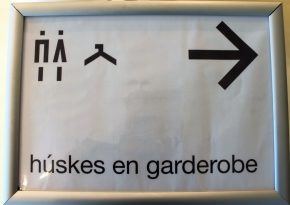 Route pictogrammen