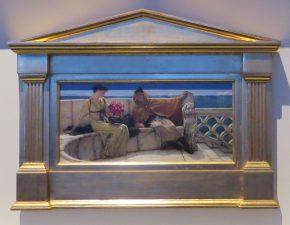 Amo te ama me, Lawrence Alma-Tadema, 1881