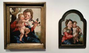 'Madonna met wilde rozen', Jan van Scorel, 1530 'Maria met kind', Jan van Scorel, ca. 1527-1530