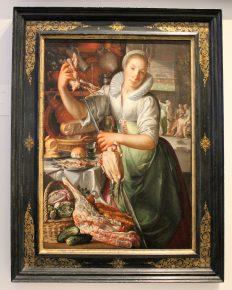 """'Keukenmeid"""" Joachim Wtewael, 1620-25"""
