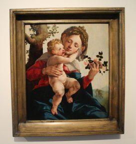 'Madonna met wilde rozen', Jan van Scorel, 1530,