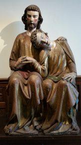 Jezus en de Apostel Johannes, Heinrich von Kostanz, ca 1300