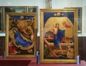 De Geboorte & de Verrijzenis van Jezus, onbekende kunstenaar, ca 1400