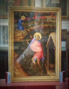 De heilige Christoffel, onbekende schilder, ca. 1400