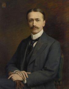 Fritz Mayer van den Bergh, Jozef Janssens de Varebeke,1901