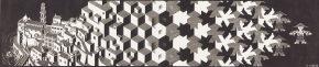 Metamorphose I, houtsnede, 1937