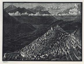 Morano, houtsnede, 1930