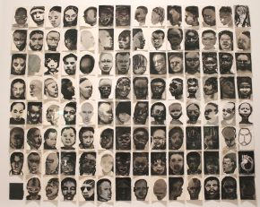 Black Drawings, Marlene Dumas, 1991-1992