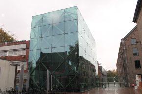 Ingang van het Textielmuseum