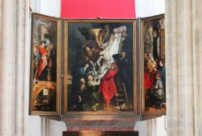 Middenpaneel Kruisafneming, Rubens, 1611