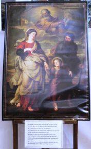 Terugkeer van de Heilige Familie uit Egypte, Rubens, 1620-25