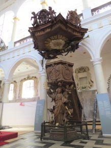 De preekstoel, Jan Pieter van Baurscheit de Oudere, 1720