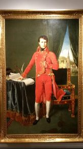 Napoleon Bonaparte, Eerste Consul, J.A.D. Ingres, 1804