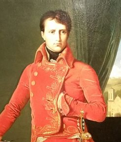 Napoleon Bonaparte, Eerste Consul, J.A.D. Ingres, 1804, detail