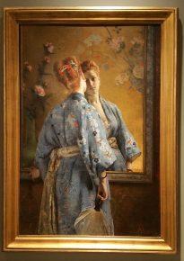 La Parisienne japonaise, Alfred Stevens, 1872-74