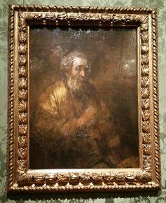 Homerus, Rembrandt, 1663