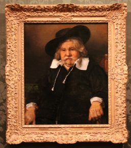 Portret van een oude man, Rembrandt, 1667