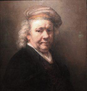 Zelfportret, Rembrant, 1669