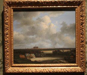 Gezicht op Haarlem met bleekvelden, Jacob van Ruisdael, ca 1670-75