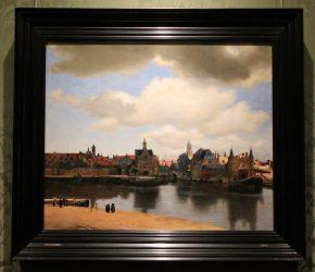 Gezicht op Delft, Johannes Vermeer, ca 1660-61