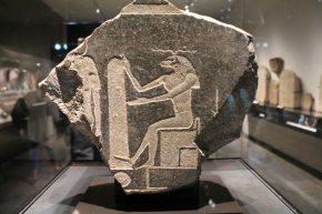 Chnoem, 4de eeuw vr Chr., graniet, 32 cm