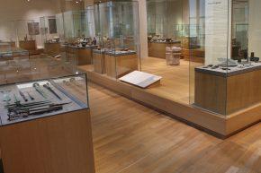 De zaal met voorwerpen uit het 'Nabije Oosten'