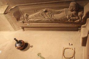 De sarcofaag voor de 'Dame van Sinpelveld' (Limburg, 2de eeuw nC